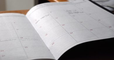 An image of a calendar planner showing STEM startup events this week in San Antonio
