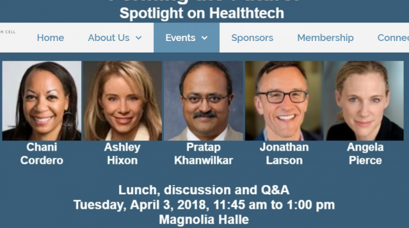 An image of five Health cell panelists