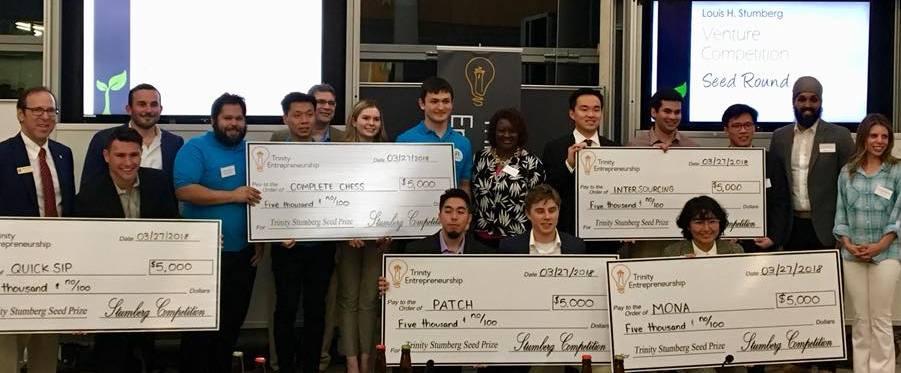 Trinity University Awards Seed Money at Stumberg Competition