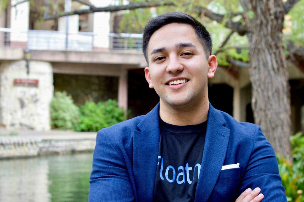 An image of Josh Sanchez, founder of Float Me