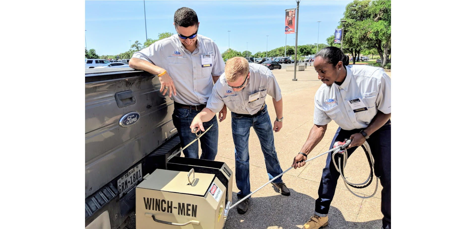 An Innovative Winch, AR App, and Medical Device Win UTSA CITE Competition