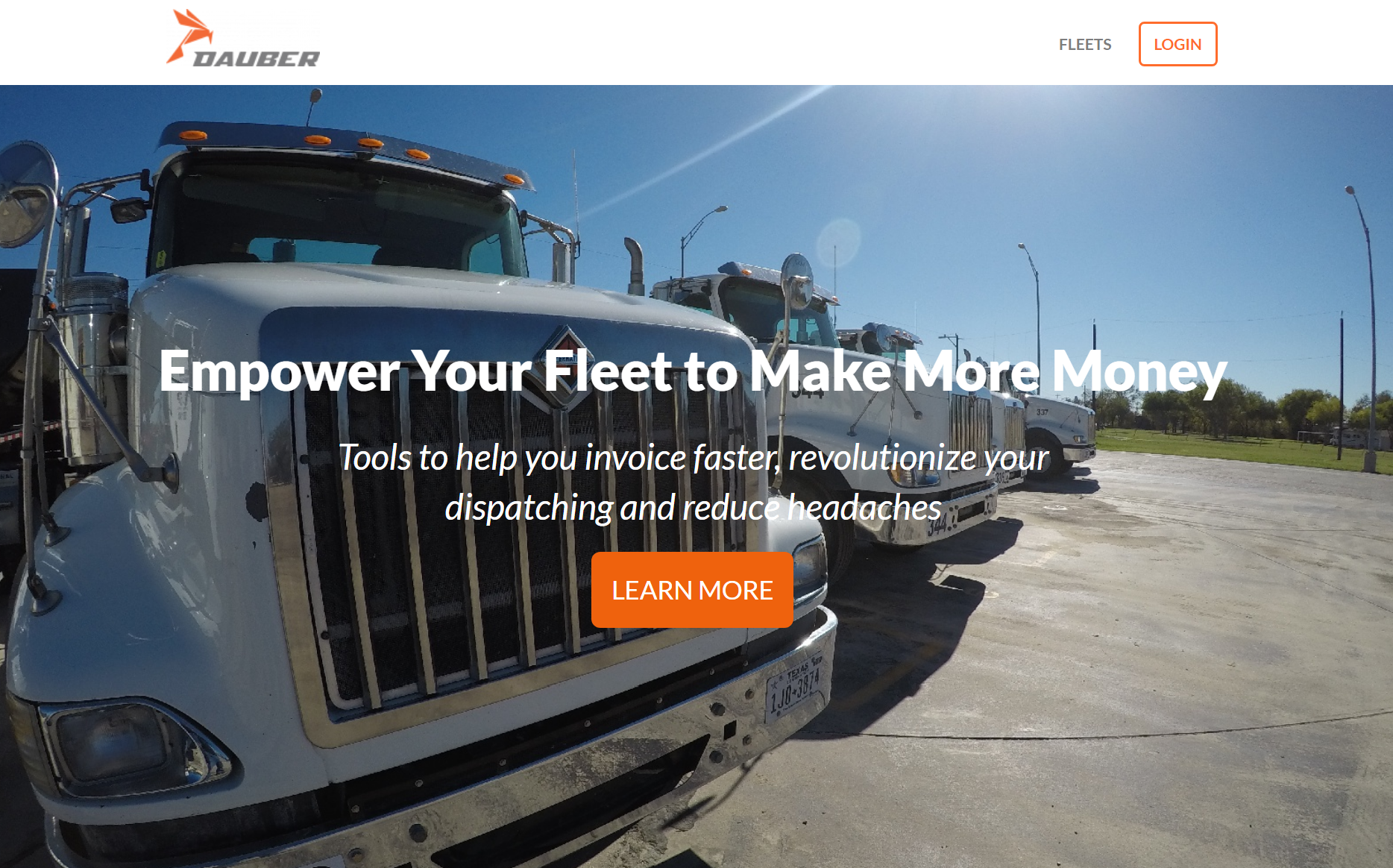 Construction Trucking Loaded with Opportunity for Tech Startup Dauber
