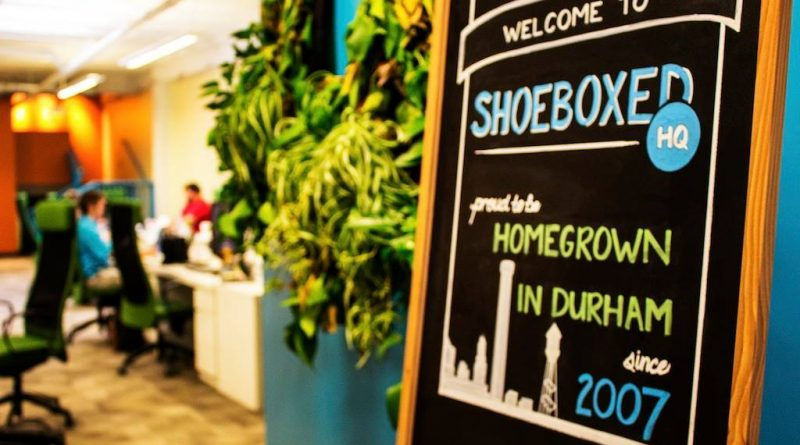 Shoeboxed is based in Durham, North Carolina. Courtesy photo.
