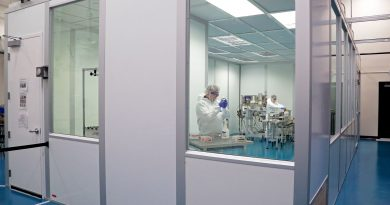 SwRI staff work in the new, operational cGMP Clean Room