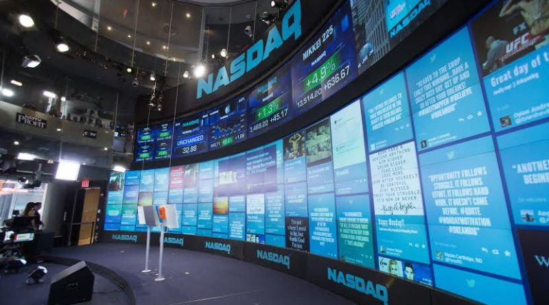 A TINT display is in use at the NASDAQ. Courtesy image.A TINT display is in use at the NASDAQ. Courtesy image.
