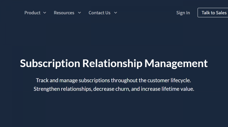 Chargify is a Scaleworks portfolio company specializing in subscription management.