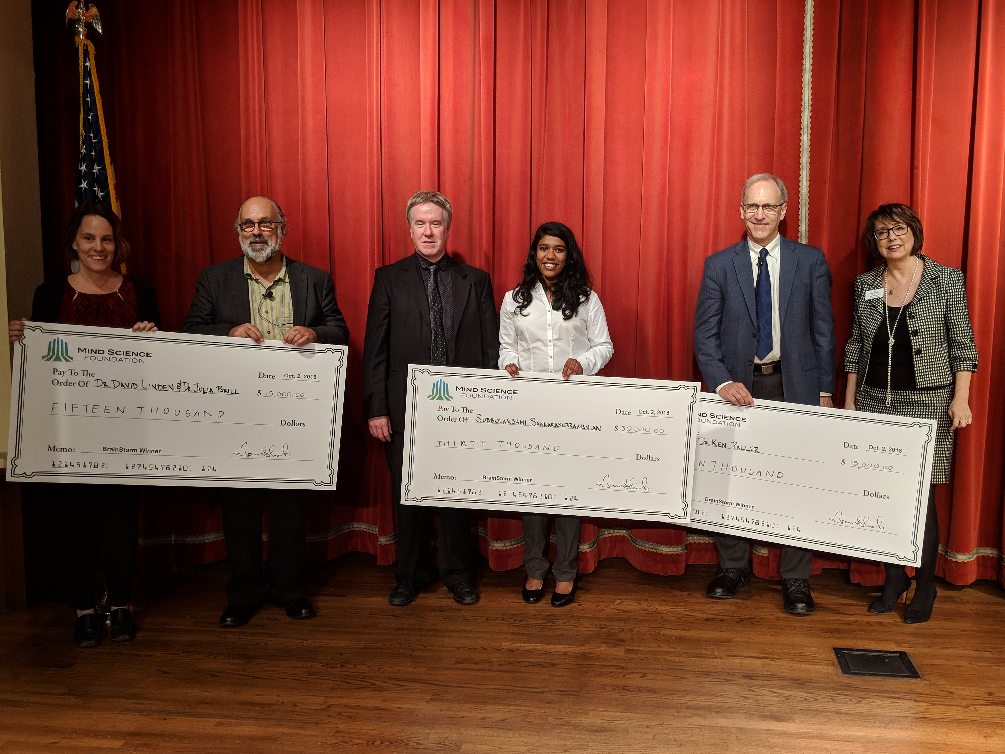 Mind Science Foundation Awards Neuroscience Researcher $30,000 at 'Magical' Pitch Competition
