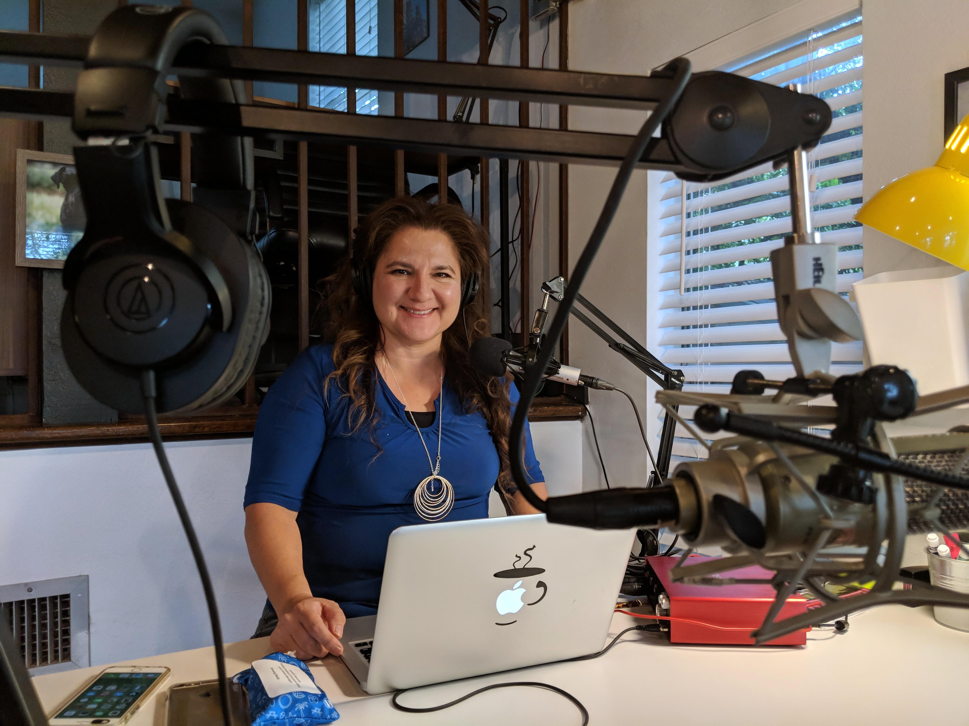 Want to Launch a Podcast? NaPodPoMo Founder Jennifer Navarrete Says Do It