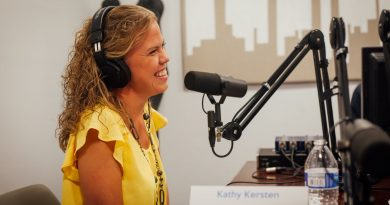 Geekdom Media's newest podcast series to debut is Obey Your Strengths, hosted by Kathy Kersten. Courtesy photo.