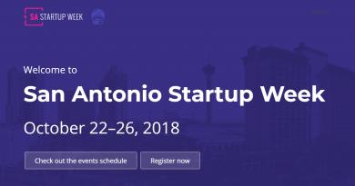 San Antonio Startup Week is Oct. 22-26, 2018.
