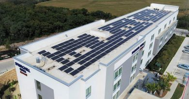 Go Smart Solar installed solar panels for the Spring Hills Suites. Courtesy photo.
