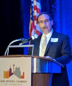 Texas Biomed president Larry Schlesinger