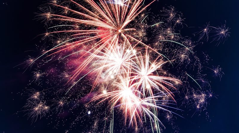 Fireworks, photo credit: Roven Images on Unsplash.