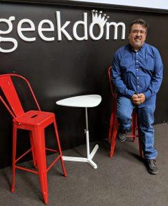 David Garcia is CEO of Geekdom. Photo credit: Startups San Antonio.