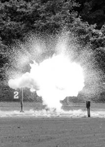 This explosion is part of the training San Antonio-based Inflow provides the ATF In Alabama. Courtesy photo.