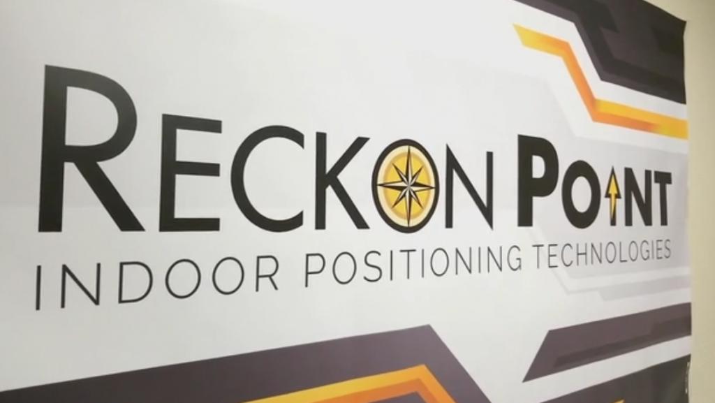 Reckon Point sign at its location at Port San Antonio