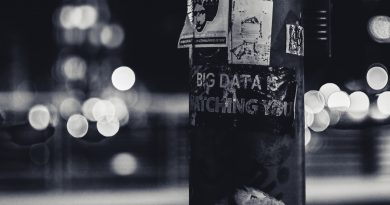 Big data is watching you. What can you do to protect your data privacy? Photo by ev on Unsplash.