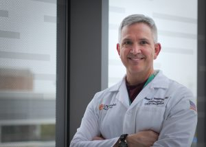 Dr. Steven Venticinque is a professor and interim chair of the anesthesiology department in the Long School of Medicine at UT Health San Antonio. Courtesy photo.