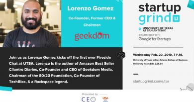 UTSA Startup Grind