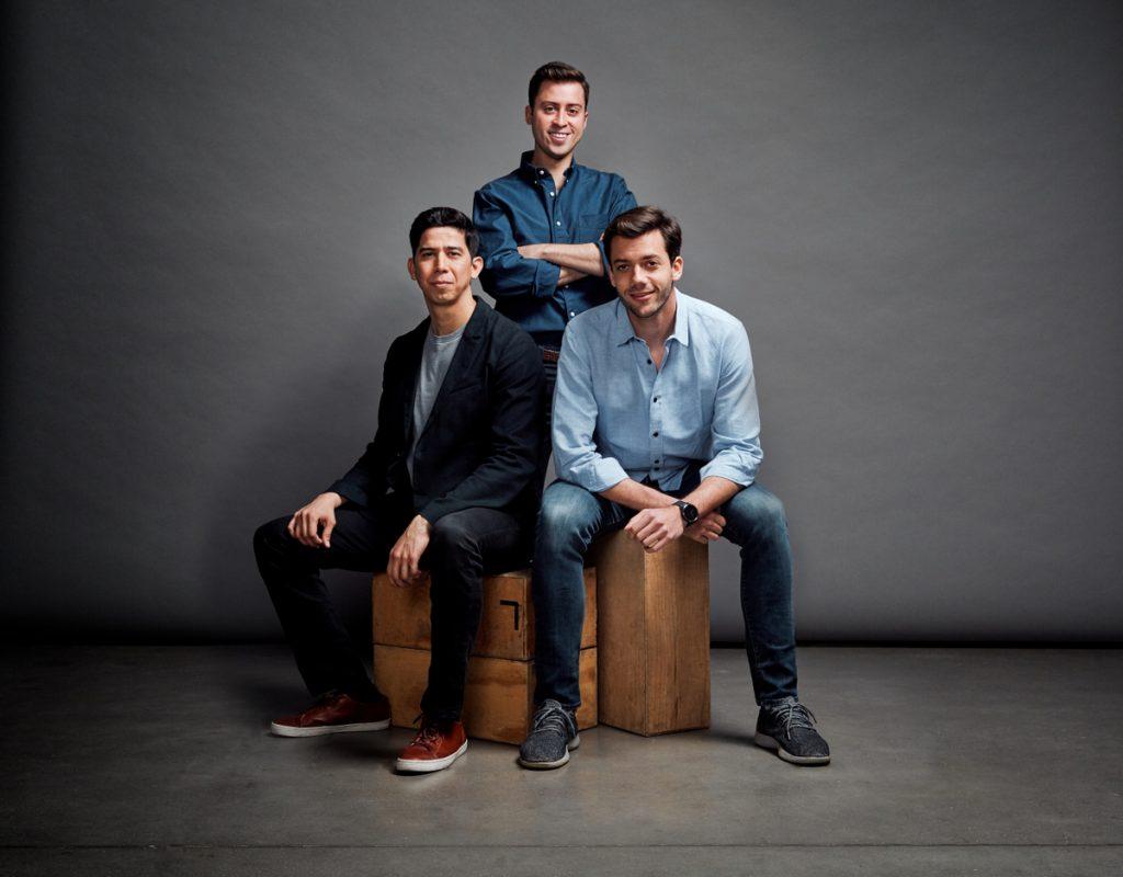 The Cityflag team, from left: Co-founders Alberto Gomez, Alberto Altamirano, and Eduardo Bravo Jr. Courtesy photo.