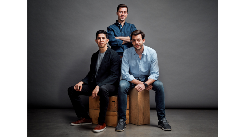 The Cityflag team, from left: Co-founders Alberto Gomez, Alberto Altamirano, and Eduardo Bravo Jr. Courtesy photo.