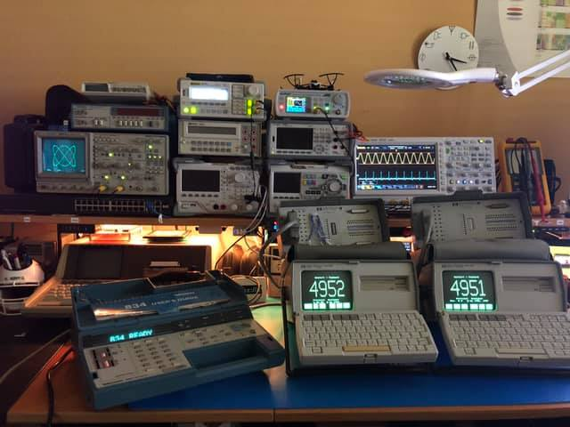 This equipment will be used for SAMSAT's summer STEM classes. Photo credit: Jorge Amodio.