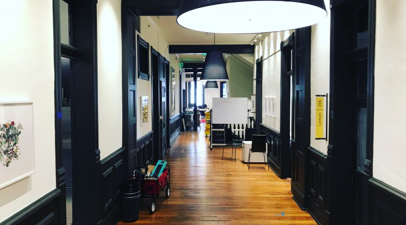 A hallway inside Scaleworks. Courtesy image.