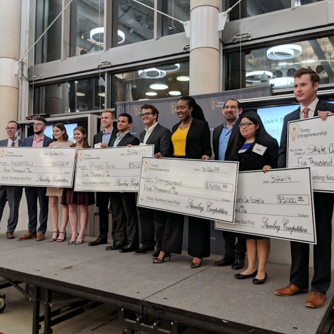 Trinity Student Teams Win $5K in Stumberg Seed-Round Venture Competition