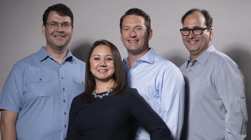 The Brokerage Engine co-founders from left: Dirk Elemendorf, Biranne Alston, J Kuper, Brett Elemendorf. Courtesy photo.
