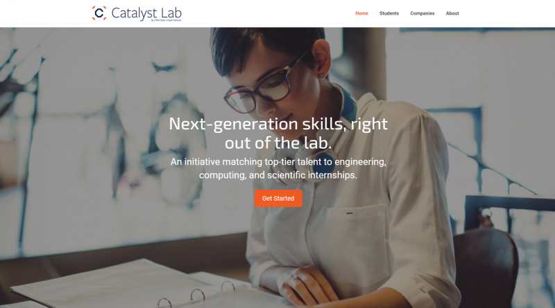 Catalyst Lab is a UTSA program linking graduate students to advanced tech jobs in local startups.