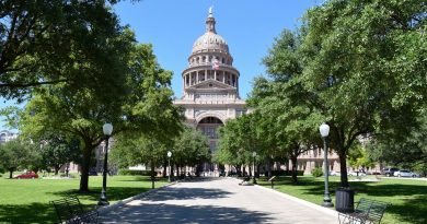 The Texas Capitol. Photo courtesy Texas State Legislature.