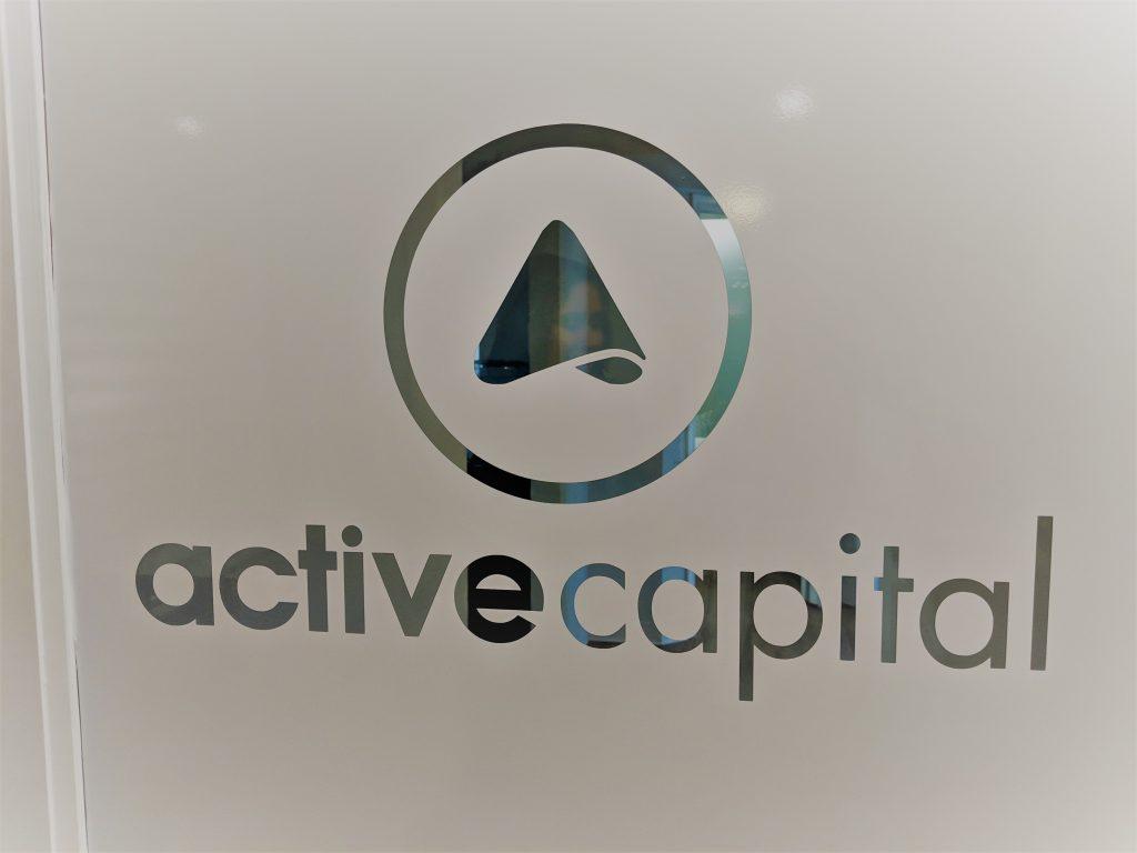 Door to Active Capital office. Photo credit: Startups San Antonio.