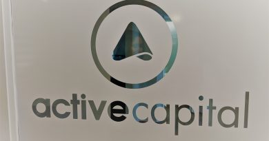 Door to Active Capital office. Photo credit: Startups San Antonio.