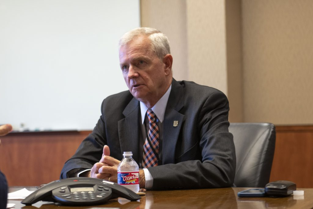 The director of the National Security Collaboration center is Guy Walsh. UTSA courtesy photo.