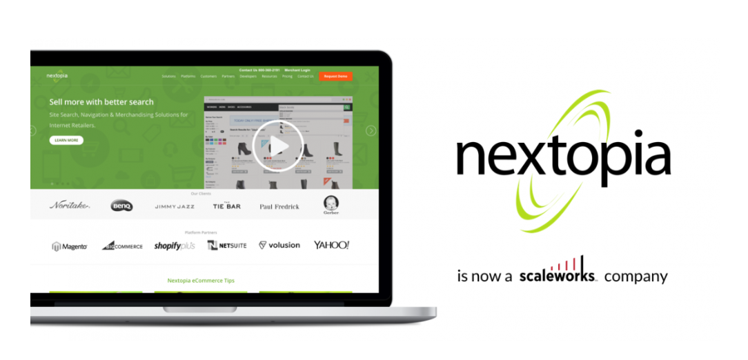 Scaleworks Buys E-Commerce Search Company Nextopia, Names Pete Messana as CEO