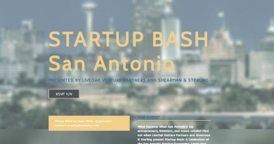 LiveOak Venture Partners and Shearman & Sterling will be in San Antonio to meet tech startup founders and talk about their investment strategies.