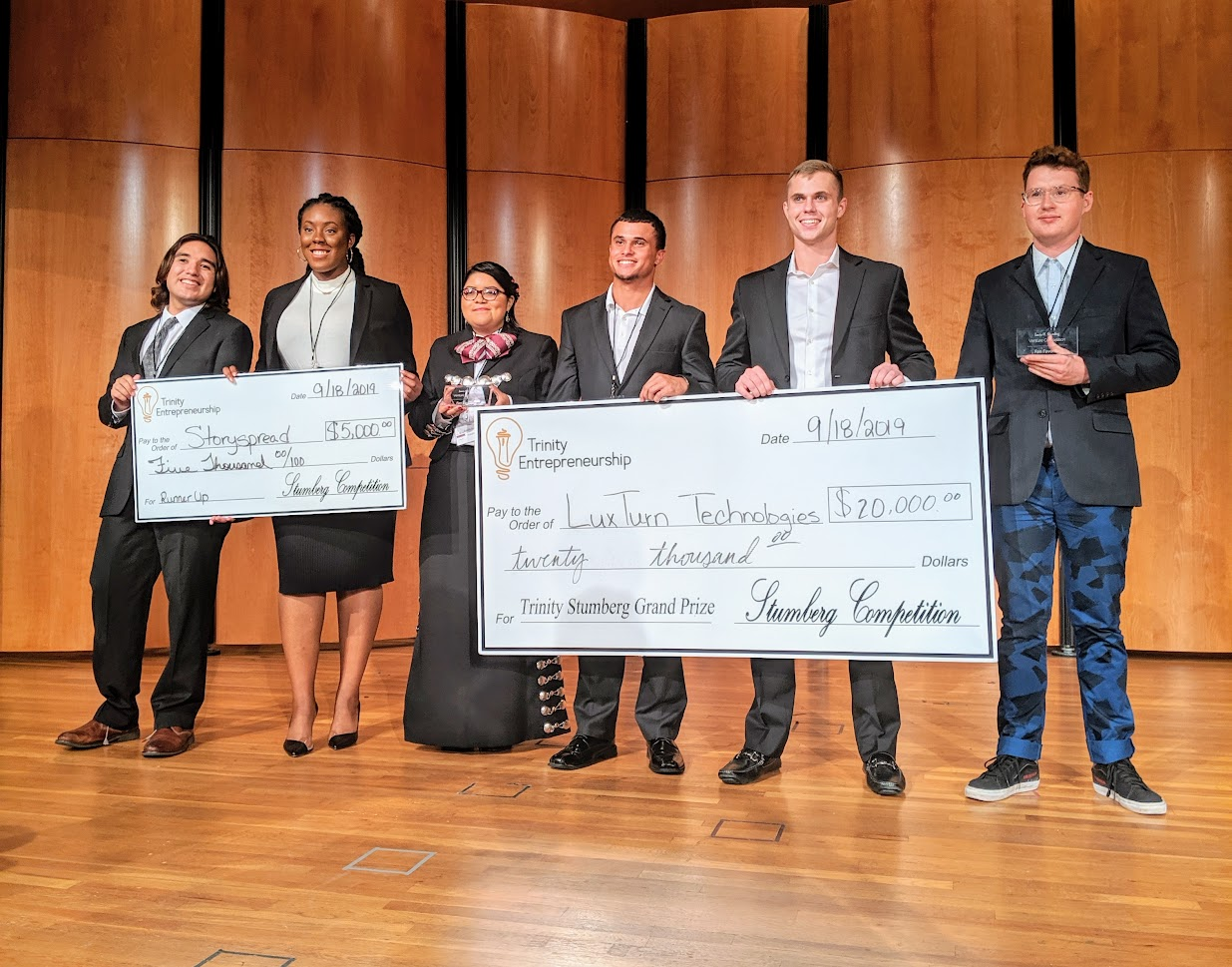 Cycling Safety Tech Startup Wins Trinity University's Stumberg Venture Competition