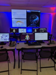 The San Antonio Museum of Science and Technology is creating a mock operations center to teach students how to work on missions in a simulated cyber range. Photo credit: Startups San Antonio.