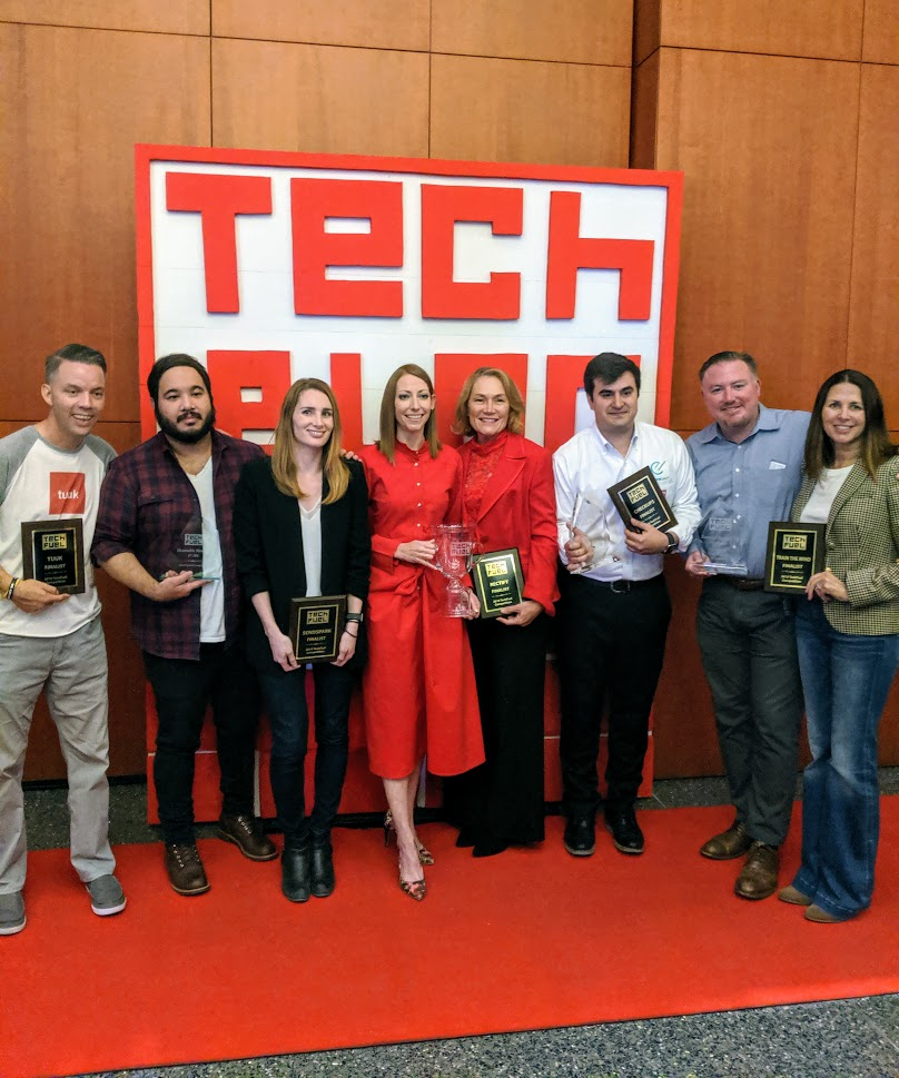 The five finalist teams in Tech Fuel