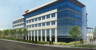 Featured image is a rendering of the proposed Project Tech 2 building to open at Port San Antonio. Courtesy image.