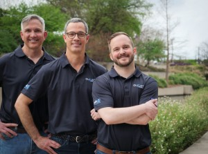 Olifant Medical team, from left: Dr. Steven Venticinque, (chief medical officer), Justin Rice (chief technical officer), Christopher Carroll (chief executive officer). Courtesy photo.