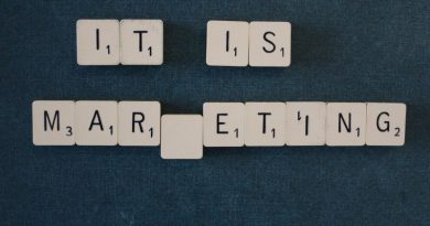 "Scrabble word tiles spell out ""it is marketing."" Photo on Visualhunt.com."