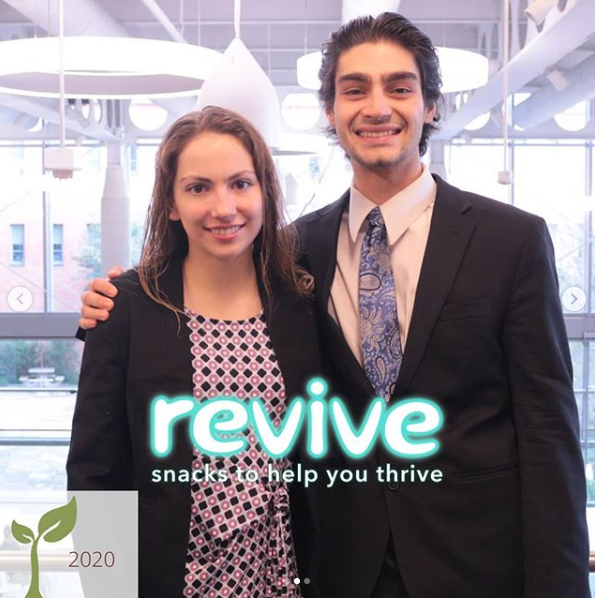 Revive Snacks Revive Snacks was co-founded by Kincannon Wilson and Amy Platter. Courtesy photo.