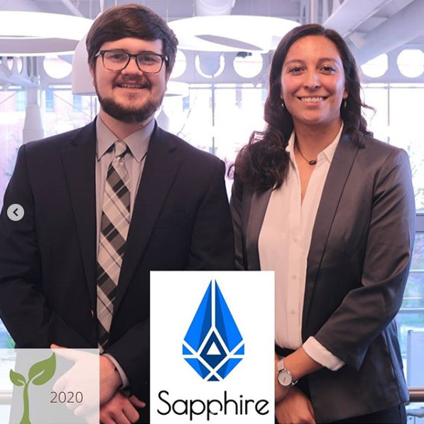 Sapphire Sapphire was co-founded by Tara Lujan and Zachary Taylor. Courtesy photo.