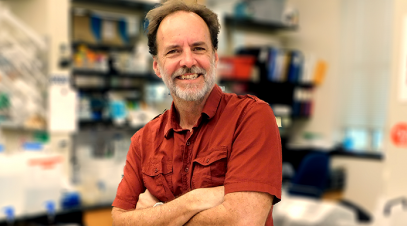 Karl Klose is UTSA College of Sciences Professor of Microbiology. Photo courtesy UTSA.