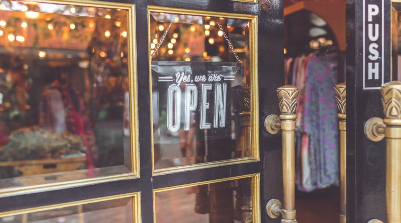 Shop Open sign, photo source Pexels
