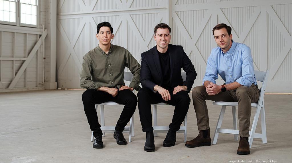 From left, Alberto Gomez, Alberto Altamirano and Eduardo Bravo are founders of San Antonio-based Irys, formerly known as CityFlag. Courtesy photo.