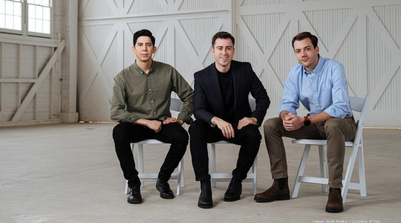 From left, Alberto Gomez, Alberto Altamirano and Eduardo Bravo are founders of San Antonio-based Irys, formerly known as CityFlag. Courtesy photo.