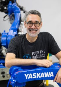 Erik Nieves is co-founder and CEO of Plus One Robotics, courtesy photo