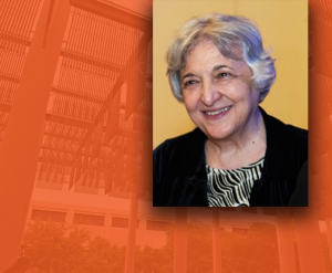 Dr. Rena Bizios received the BioMed SA 2020 Award for Innovation in Healthcare and Bioscience. Image courtesy UTSA.